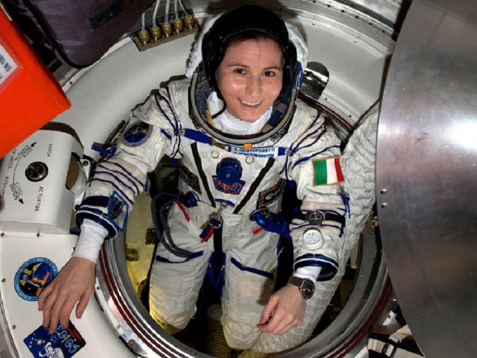 TUM Hosts Astronaut and TUM Alumna Samantha Cristoforetti