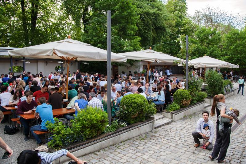 Munichs Beer Gardens: Muffatwerk - The Organic One
